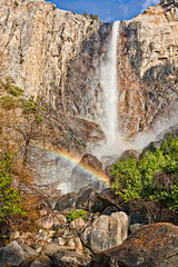 Bridalveil Fall, Yosemite National Park (William Yu Photography / Chinaphotoworkshop) Tags: california park usa mountain fall waterfall rainbow national yosemite bridalveil       chinaphotoworkshop