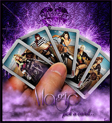 Pussycat Dolls - Magic, pick a card... (FrankyI'm Back) Tags: world doll dolls tour magic domination pussycat frankysboomboxblogspotcom