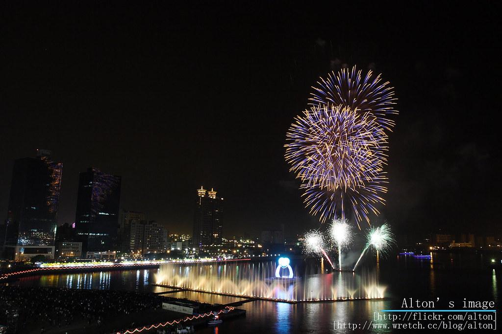 2009高雄燈會煙火續集 (無煙囧版)