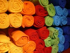 Arrotolate (peppe foto) Tags: munich mnchen deutschland colours material colori farben stoff xxxlutz