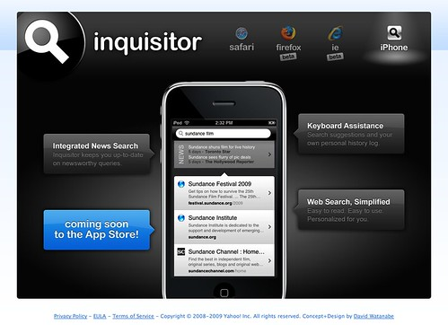 Inquisitor for iPhone... coming soon!