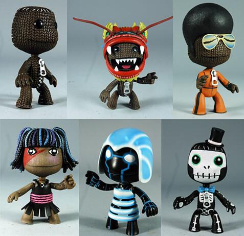 LittleBigPlanet - SackBoys figures