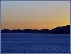 Mallorca Sunset 1 (Luca 4891) Tags: sunset sea mountain water against backlight island spain tramonto mare stu ibiza tramonti mallorca montagna spagna isola maiorca baleari formantera