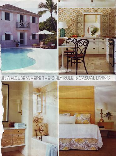house & garden: Tom Sheerer Bahamas Project