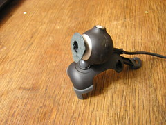 Tesco CIF Webcam - Crude IR Filter Mount