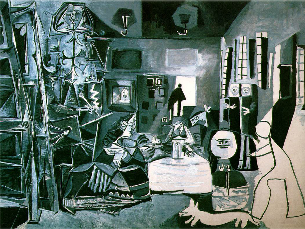 Pablo Picasso (Spanish, 1881-1973) Las Meninas, after Diego Velázquez (1957) Oil on canvas. Picasso Museum, Spain.