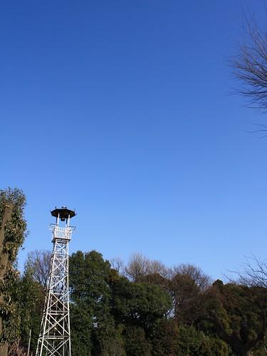 坂之下新田の火の見櫓