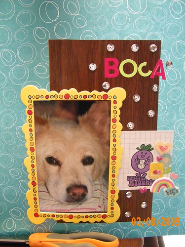 Boca scrapbook page by you.