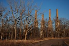 Steam Plant B (k.landerholm) Tags: minnesota entropy ruins flickr decay historic twincities stacks gow rosemount dakotacounty umorepark gopherordnanceworks steamplanta