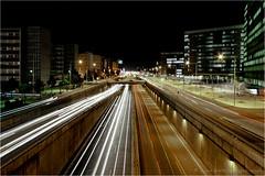 Gran Via Barcelona (Harm Rhebergen) Tags: barcelona espaa night canon eos lights noche licht spain nightshot nacht bcn wideangle catalunya nuit spanien 1022 spanje granvia uwa canonefs1022mmf3545usm ultrawideangle canon1022 groothoek 40d nachtshot eos40d canoneos40d canon40d harmrhebergen