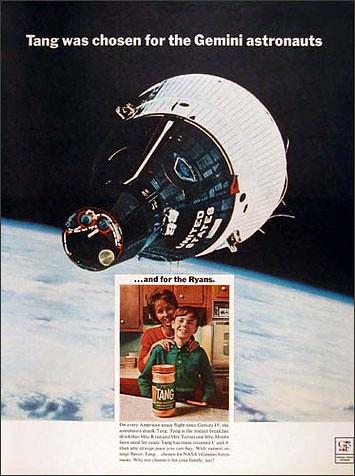 Tang :: The Drink of Choice Among Gemini Astronauts ...