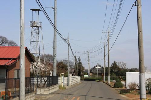 下赤坂の火の見櫓