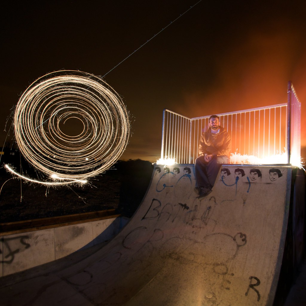 3382994773 60b1fc86d3 b Skatepark Light Graffiti Art