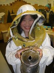 Sophia Ready to Start Beekeeping