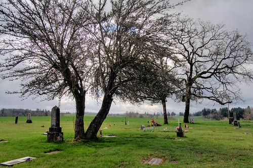 Campbell-Grier Cemetery outside of Stayton Oregon