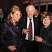 Robin Kay, President, Fashion Design Council of Canada; Bob Brooks, Chair, Heart and Stroke Foundation of Canada; Brenda Brooks