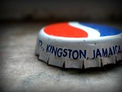 (Elise Michelle) Tags: bottle rust cola pop kingston cap jamaica pepsi soda marble