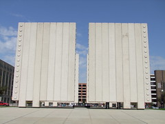J.F. Kennedy memorial, exterior (R&AH) Tags: urban architecture concrete dallas memorial texas cenotaph philipjohnson kennedy johnfkennedymemorialplaza
