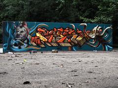 AFX_CFS (BREakONE) Tags: wall one graffiti major hungary break fat budapest cest heat 2009 afx kast cfs város xcept
