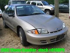 02 Chevrolet Cavalier -stock #0198P9