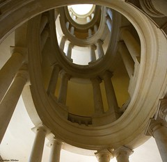 Spiral (Capitan Mirino ( il Tartarughino )) Tags: italy roma architecture staircase scala baroque architettura barocco spiralstaircase lazio smrgsbord palazzobarberini scalaachiocciola girobarocco