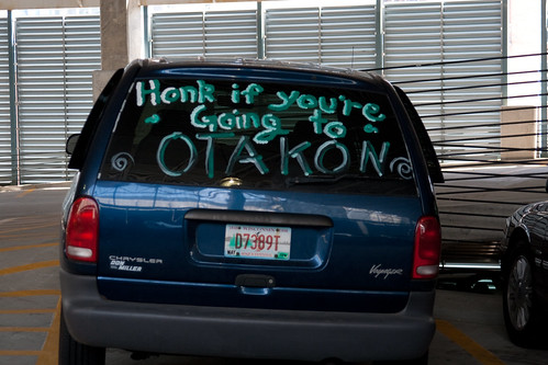 """Honk if you're going to Otakon"""