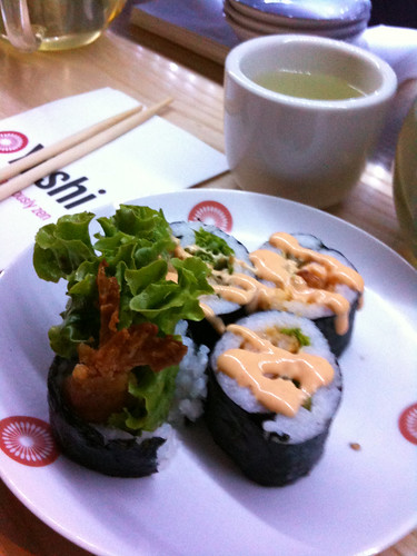 Shrimp Tempura Roll at Yushi