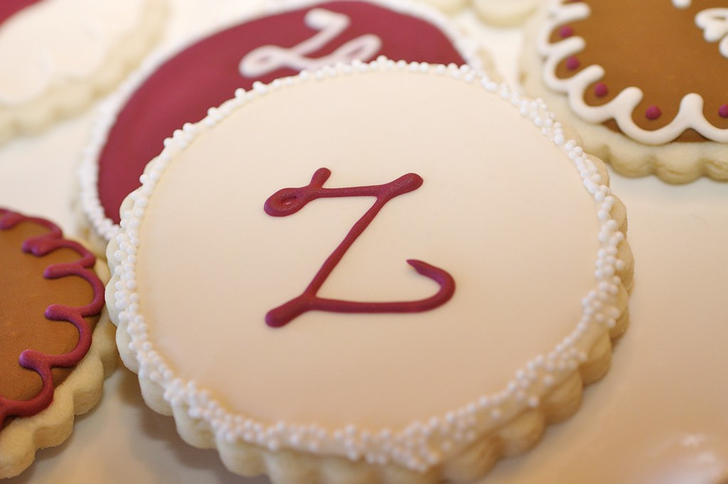Monogram Sugar Cookie