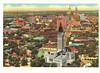 Route 66 Tulsa Skyline Postcard (crayolamom) Tags: usa oklahoma skyline vintage route66 postcard northamerica tulsa ok reprint