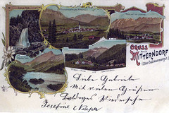 Greetings from Bad Mitterndorf 1896 :: eu-moto images B. Egger (:: ru-moto images • 51.500.000) Tags: tourism austria postcard historic tourismus steiermark autriche styria geschichte 欧洲 mitterndorf salzkammergut egger 奥地利 オーストリア австрия ausseerland badmitterndorf früher seinerzeit alteansicht postkart photoegger badmitterndorfnet eumoto inaustriaat
