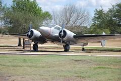 UC-45J at Lackland Air Force Base (foqus) Tags: sanantonio texas force aircraft air airplanes planes airforce base lackland paradefield uc45j