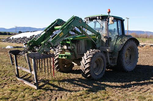 John Deere 6420 Tractor.