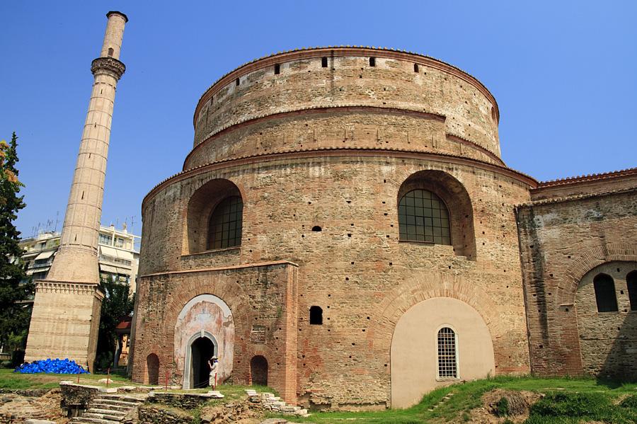 Thessaloniki / Saloniki  / Grecja 2009 / The Rotunda of St. George
