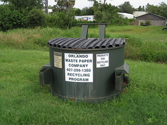 Orlando Waste Paper Company (FormerWMDriver) Tags: trash dumpster paper orlando garbage can front bin container company rubbish waste refuse load sanitation