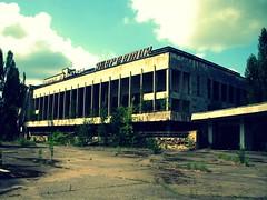 Abandoned building in Pripyat' / Chernobyl (Daniel Kliza) Tags: plant danger radio tour power evacuation radiation nuclear ukraine disaster radioactive powerplant 1986 atomic kiev zona zone explosive ussr iaea chernobyl geigercounter exclusion geiger pripyat exclusionzone