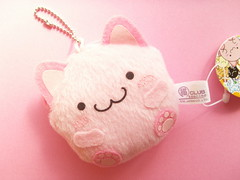 Kawaii Maruneko Club Mini Coin Purse Keychain Mascot Japan (Kawaii Japan) Tags: pink cute smile smiling animal mobile japan shop cat shopping asian toy happy japanese store nice keychain key doll soft pretty phone little small adorable cell fluffy mini charm case goods plush mascot chain collection softie ornament purse stuff kawaii plushie strap collectible lovely cuteness goodies phonecharm nyanko coinpurse ballchain coincase japanesestore cawaii japaneseshop maruneko kawaiishopping kawaiijapan kawaiishop marunekoclub kawaiishopjapan