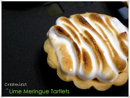 Lime Cream meringue tartlets TWD 004