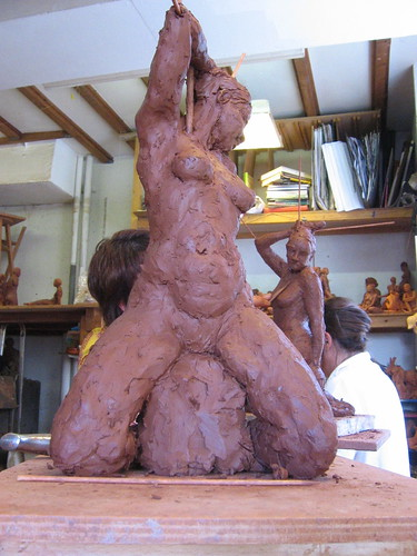 Sculpture étirée