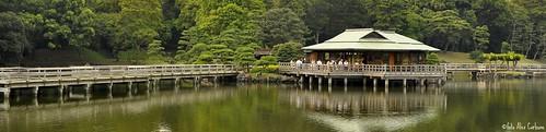 Hama-Rikyu Nakajima-no-ocha (  Nakajima tea house)