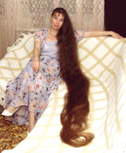 фото очень длинных волос