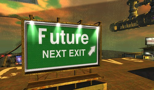 Future NEXT EXIT >>> by Daniel Voyager, on Flickr
