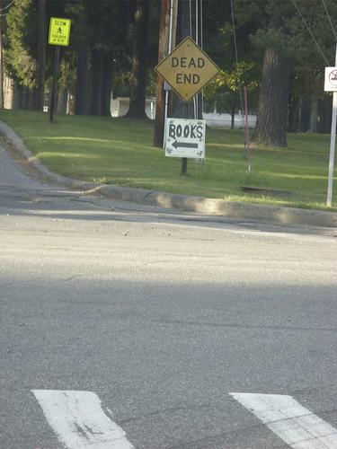 Tupper Lake signage