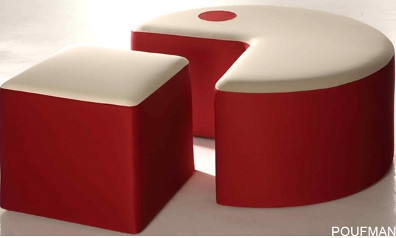 Poufman – Chair Design Inspired from Pac-Man Video Game