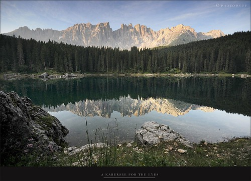 A Karersee for the eyes ( Carezza - Karersee Lake) by Texasflood_it, on Flickr