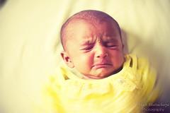 Stop Clicking ..I am Sleeping (@k@sh) Tags: old baby cute sepia canon 350d 50mm kid shoot weekend small f18 alu akash 19days sasken nalaj nalajsgirl tadka09wk37