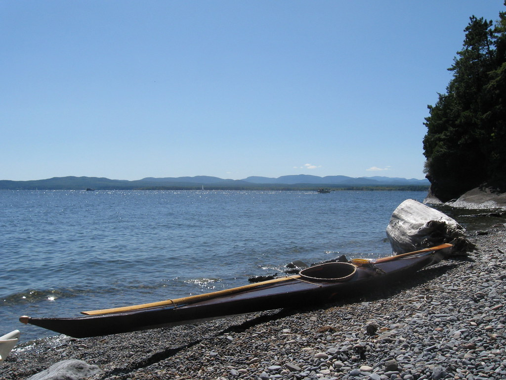 Valcour Island beach