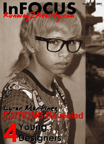 ly-ar martinez editions revealed fashion designer student