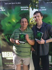 DReam Raider authors Kev and Ant