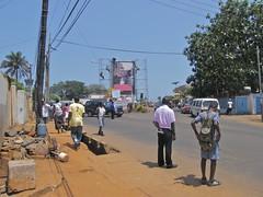 Waiting for Transport, Freetown (Karen Hlynsky) Tags: sierraleone westafrica freetown karenhlynsky