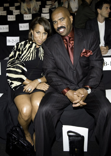 Marjorie Harvey, Comedian Steve Harvey